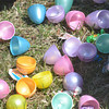 WARREN DILLAWAY / Star Beacon<br /> EGGS WERE opened quickly during the Lake Shore Park Easter Egg Hunt in Ashtabula Township on Saturday afternoon.