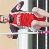 WARREN DILLAWAY / Star Beacon<br /> ZACH WATTS of Geneva competes in the pole vault on Saturday during the Perry Relays.