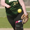 WARREN DILLAWAY / Star Beacon<br /> BRIANNA LEONARD pitches for Lakeside during a Monday afternoon game at Geneva.