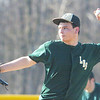 WARREN DILLAWAY / Star Beacon<br /> NICK MEOLA of Lakeside pitches Monday during a game at Geneva.