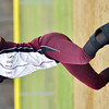 WARREN DILLAWAY / Star Beacon<br /> MEGAN STECH of Pymatuning Valley pitches on Monday during a home game with Grand Valley.