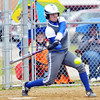WARREN DILLAWAY / Star Beacon<br /> SHAR MILLER of Grand Valley swings on Monday during a  game at Pymatuning Valley.