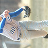 WARREN DILLAWAY / Star Beacon<br /> NATE WENGER pitches for Grand Valley during a game at Edgewood.
