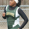 WARREN DILLAWAY / Star Beacon<br /> KARNEISHA PARTRIDGE of Lakeside runs a heat of the 200 meter dash on Saturday during the Icebreaker Invitational at Lakeside on Saturday. She went on to finish second in the event.