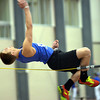 WARREN DILLAWAY / Star Beacon<br /> JEREMIAH ALLEN works on his high jump technique during a Geneva track practice on Monay afternoon at Spire Institute.