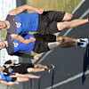 WARREN DILLAWAY / Star Beacon<br /> CRAIG ANDERSON (right) and Grand Valley teammate Robbie Dorhn run the 1600 meters on Tuesday during a home meet in Orwell.