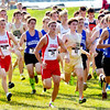 WARREN DILLAWAY / Star Beacon<br /> THE BOYS race at the War on the Shore begins Monday afternoon at Lake Shore Park in Ashtabula Township.