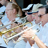 WARREN DILLAWAY / Star Beacon<br /> TONY ESPOSITO (far right) and his All Star Big Band play at the Bands on the Beach Sunday at Walnut Beach.