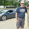 WARREN DILLAWAY / Star Beacon<br /> DOUG BLANCHARD (left) rented his friend Jacques Chapman a Lamborghini to drive for a week after Champman's diagnosis of terminal pancreatic cancer in May.