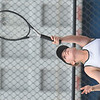 WARREN DILLAWAY / Star Beacon<br /> GABBY NOVAK of Lakeside serves during a  third singles match at Jefferson on Tuesday afternoon.