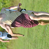 WARREN DILLAWAY / Star Beacon<br /> CORY MIENTKIEWICKZ of Pymatuning Valley sprints to the finish line of the Pymatuning Invitational on Thursday in Andover Township.