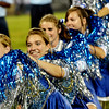 WARREN DILLAWAY / Star Beacon<br /> TYLOR WHITELY (far left) and Callie Forrest (second from left) perform on Friday night with the Grand Valley band at halftime of a home game with Conneaut.