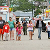 WARREN DILLAWAY / Star Beacon<br /> THE ASHTABULA County Fairgrounds was a busy place Monday as participants and fair administration prepare for today's opening of the fair.
