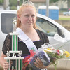 WARREN DILLAWAY / Star Beacon<br /> HOLLIE DALTON, 14, of Ashtabula, was named Ashtabula County Fair Prince on Tuesday night at the fairgrounds in Jefferson.