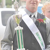 WARREN DILLAWAY / Star Beacon<br /> CRAIG BULTER, 18, of Denmark Township was crowned Ashtabula County Fair King on Tuesday evening at the fairgrounds in Jefferson.