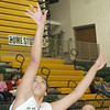 WARREN DILLAWAY / Star Beacon<br /> BRIANNA SCRUGGS of Lakeside shoots on Saturday during a home game with Eastlake North.