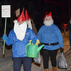 WARREN DILLAWAY / Star Beacon<br /> GNOMES FROM the Pymatuning Area Garden Club participates in the Andover Christmas parade on Saturday evening.