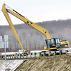 WARREN DILLAWAY / Star Beacon<br /> DETAIL WORK is reviewed on the Interstate 90 westbound exit ramp at Route 7 in Conneaut on Monday afternoon.