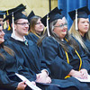WARREN DILLAWAY / Star Beacon<br /> KENT STATE UNIVERSITY-Ashtabula Campus graduates were all smiles on Friday evening during the school's graduation ceremonies. The class was the largest in school history.