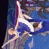 WARREN DILLAWAY / Star Beacon<br /> BRANDON CARLSON lifts Sarah Mudd during the Nutcracker at the Ashtabula Arts Center.