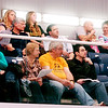 WARREN DILLAWAY / Star Beacon<br /> SWIM FANS keep a close eye on the Ashtabula County Invitational on Saturday at Spire Institute in Harpersfield Township.