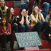 WARREN DILLAWAY / Star Beacon<br /> PYMATUINING VALLEY fans were prepared for Tim Cross's 1,000the career point on Tuesday night at Geneva.