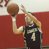 WARREN DILLAWAY / Star Beacon<br /> AUSTIN NOWAKOWSKI of Pymatuning Valley prepares to release a shot on Tuesday night at Geneva.
