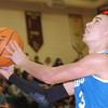 WARREN DILLAWAY / Star Beacon<br /> GABE KOVATS of Grand Valley drives to the basket on Friday at Pymatuning Valley.