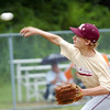 WARREN DILLAWAY / Star Beacon<br /> NICK SHROYER of the New Albany Major League All Stars pitches on Saturday during a state tournament game against Hamilton at Cederquist Park in Ashtabula.