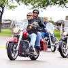 WARREN DILLAWAY / Star Beacon<br /> MOTORCYLISTS FROM the Concerned Motorcyclists Riders of Ohio leave Lake Shore Park on Saturday kicking off the Ride for the Red to benefit the Ashtabula chapter of the American Red Cross.