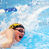 WARREN DILLAWAY / Star Beacon<br /> CHIP RANCK of Lakeside competes in the boys 100 yard freestyle on Saturday at Spire Institute in Harpersfield Township.