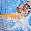 WARREN DILLAWAY / Star Beacon<br /> GINA VARCHETTO of Edgewood competes in the girls 100 yard back stroke on Saturday at Spire Institute in Harpersfield Township.