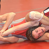 WARREN DILLAWAY / Star Beacon<br /> TANNER PERRY (left) of Edgewood attempts to control Tavis McClellan of Akron Kenmore during a 113 pound bout during a match at Edgewood on Saturday morning.