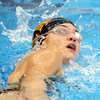 WARREN DILLAWAY / Star Beacon<br /> CLARA HEATH of Lakeside competes  in the 5500 yard freestyle on Saturday at Spire Institute in Harpersfield Township.