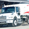 WARREN DILLAWAY / Star Beacon<br /> A NEW street sweeper is at work on West 32nd Street in Ashtabula on Tuesday afternoon.