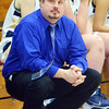 WARREN DILLAWAY / Star Beacon<br /> TONY PASANEN, Conneaut girls basketball coach, watches  the action during game with Edgewood on Saturday.