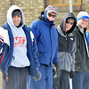 WARREN DILLAWAY / Star Beacon<br /> ALEX IZZI (far left) and fellow bocce players watch the action on Saturday during the First Annual Sons of Italy Outdoor Bocce Toournament on Saturday in Ashtabula.