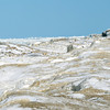 WARREN DILLAWAY/ Star Beacon<br /> ICE AND snoww cover  portions of the Ashtabula Breakwall at Walnut Beach in Ashtabula on Tuesday afternoon.