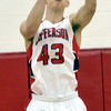 WARREN DILLAWAY / Star Beacon<br /> DAVID CHASE, of Jefferson pulls down a rebound on Tuesday night during a home game with Austintown Fitch.