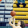 WARREN DILLAWAY / Star Beacon<br /> SARAH MOREHOUSE of Lakeside shoots on Saturday during a home game with Riverside.