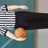 WARREN DILLAWAY / Star Beacon<br /> JOHN TESKE officiates the Riverside at Lakeside girls basketball game on Saturday at Lakeside.