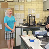 WARREN DILLAWAY / Star Beacon<br /> CRAIG PIERCE, superintendent of the Conneaut Wastewater Treatment Plant, conducts a tour of the facility on Saturday. Nova Campbell (left) of Ashtabula and Mary Ann Pollock of North Kingsville stopped by to check out the plant. Plant officials also offered brand new digital theremometers in exchange for old mercury based thermometers.