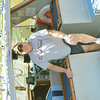 WARREN DILLAWAY / Star Beacon<br /> WALT ERMANS, captain of The Trophy, has been a charter fish captain for 27 years. He makes his living leading fishermen to the hot spots from the Western basin to Ashtabula depending on the time of year.