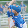 WARREN DILLAWAY / Star Beacon<br /> ANDREW MIHALICK pitches for the Ashtabula Major League All Stars on Saturday during opening round state tournament action at Cederquist Park in Ashtabula.