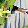 WARREN DILLAWAY / Star Beacon<br /> SHAWN VANBUREN of Ashtabula finishes the Greenway Five Mile on Saturday in Austinburg Township.