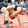 WARREN DILLAWAY / Star Beacon<br /> GLENN ZALLER of Grand Valley won his Friday morning match at the Ohio High School Individual State Wrestling Tournament in Columbus with a decision over Kadin Mark Clifford of Bainbridge Paint Valley.