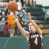 WARREN DILLAWAY / Star Beacon<br /> AUSTIN NOWAKOWSKI of Pymatuning Valley participates in the three point contest on Monday evening during the sTar Beacon-Ed Batanian Senior Classic at Lakeside.
