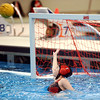 WARREN DILLAWAY / Star Beacon<br /> CECILIA WEISS, a goalie, reaches for a save during Olympic Development regional water polo action at Spire Institute in Harpersfield Township Saturday. The competition continues today.