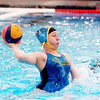 WARREN DILLAWAY / Star Beacon<br /> ZOE MOTTERSHAW, a goalie for the Southwest 10th grade and under Olympic Development Water Polo team, prepares to throw the ball to a teammate on Saturday at Spire Institute in Harpersfield Township.