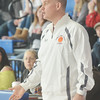 WARREN DILLAWAY / Star Beacon<br /> PYMATUNING VALLEY girls basketball coach Jeff Compan reacts to a play on Saturday during a Division III championship game at Ravenna.